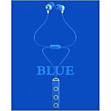 Wireless Bluetooth Headphone, BT-52 In-Ear Wireless Bluetooth Stereo Headset(Blue)