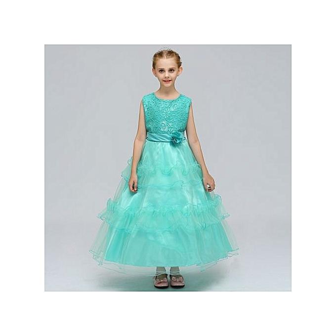 Buy Generic Hot Girl\'s Princess Dress Beautiful Costume One-piece ...