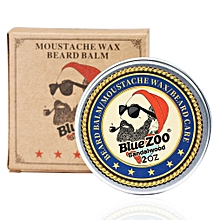 Men Beard Oil Balm Moustache Wax for styling Beeswax Moisturizing Beard Care sandalwood