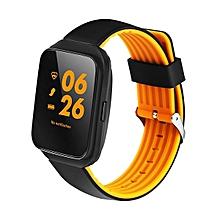 KALOAD Z40 Blood Pressure Heart Rate Monitor Bluetooth Camera Smart Watch #orange