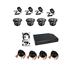 Analogue 6 camera CCTV Solution Pack