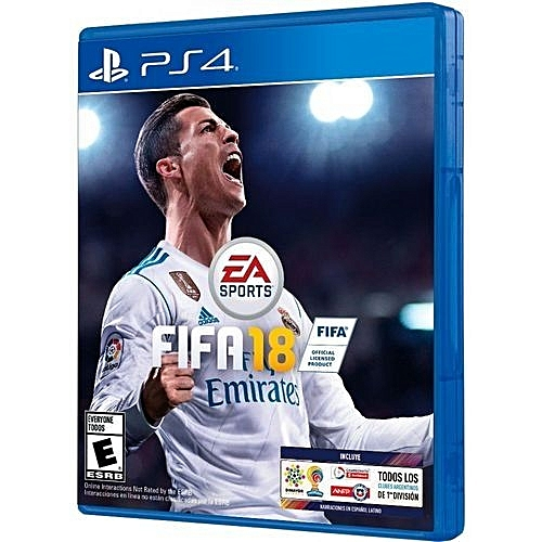 Buy EA Sports Fifa 2018 PS4 @ Best Price Online - Jumia Kenya