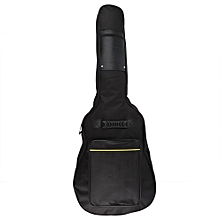 Waterproof Guitar Gig Backpack Bag Electric Guitar Gig Bag Black Guitar Case