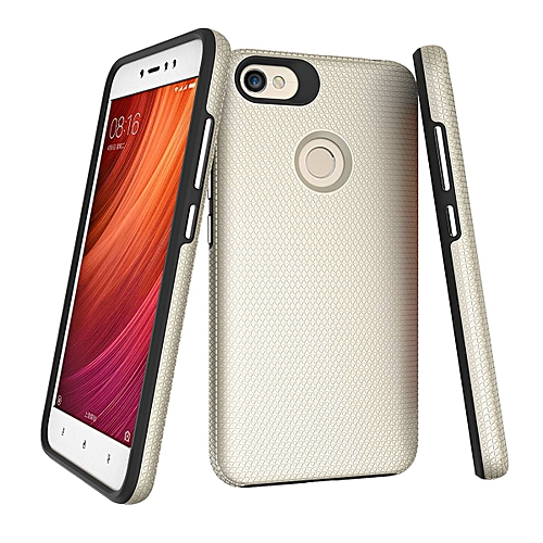 Generic Grandcase Phone case Xiaomi Redmi Note 5A Prime Case, Ultra Slim Soft Silicone Bumper Heavy Duty Shockproof Protective Case with Hard PC Back Cover ...