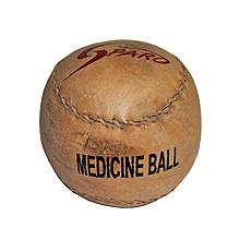 Medicine Ball - India Size - 5kg - Brown