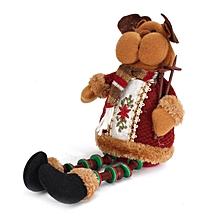 ELK Doll Christmas Decoration Xmas Tree Decent Ornaments 26cmx13cm