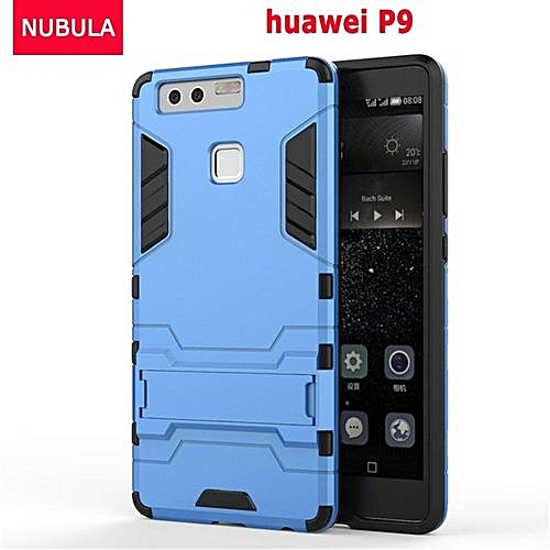 new concept bbe7b 7608a 360 Degrees Ultra-thin Hard Back Cover For Huawei P9 Detachable 2 In 1  Hybrid Armor Shell Case Dual-Layer Full Protective Shockproof Case  Cover/Anti ...
