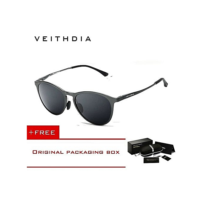e1d177a2df06 VEITHDIA Unisex Retro Aluminum Magnesium Brand Sunglasses Polarized Lens Vintage  Eyewear Accessories Sun Glasses Men