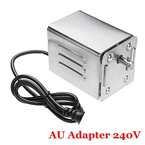 Stainless Steel BBQ Motor 70Kgs Pig Lambs Grill Bearing Barbecue Spit Rotisserie # AU 220V