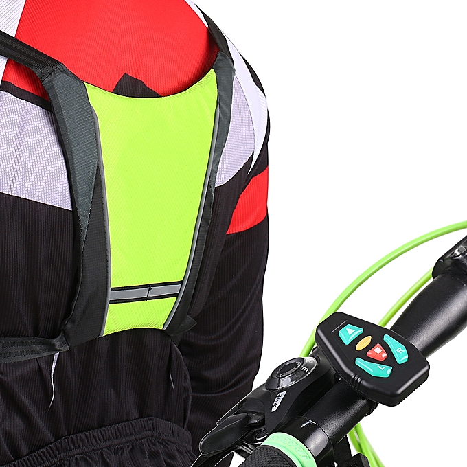 Bicycle Accessories Helpful Lixada Reflective Vest Backpack With Led Turn Signal Light Remote Control Outdoor Sport Safety Bag Gear Usb Rechargeable Bicycle Bags & Panniers