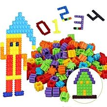 200PCS/Lot Plastic Building Blocks Kids Toy Puzzle Educational Learning Brain Development Game Building Bricks Toys Multicolor