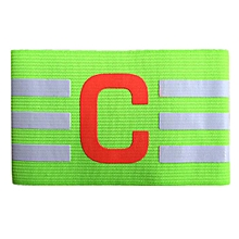 Adjustable Football Captain Armband Soccer Competition Skipper Flexible Arm Band