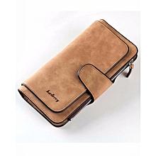 Ladies Fashion Statement Purse Wallets -Brown