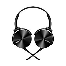 MDR-XB450 Headphones - Black