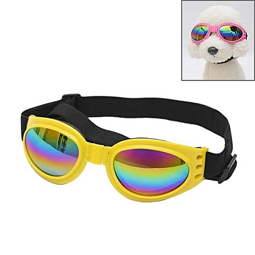 e06e18bfe30 Generic Anti-fog Uv400 Dog Foldable Polarized Sunglasses For Dogs With 6kg  Weight Or Heavier(yellow)
