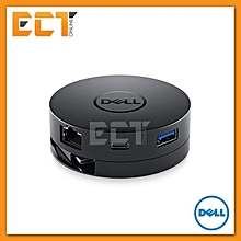 Dell DA300 Mobile Adapter (USB Type-C to HDMI/VGA/DisplayPort/Ethernet/USB-C/USB) BDZ Mall