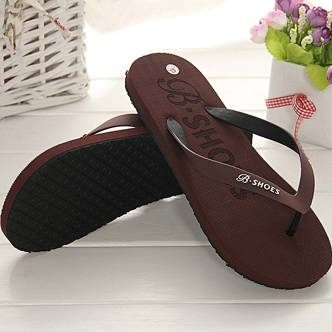 a0b0ce0daf84 Fashion Men Summer Shoes Sandals Male Slipper Indoor Or Outdoor Flip ...