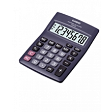MW-8  Desk Top Calculator - 8Digits - Black