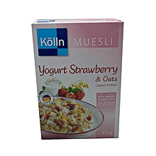 Yoghurt Strawberry And Oats - 375g