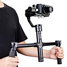 Dual-grip Handle For Crane / Crane - M 3-axis Stabilization Gimbal - Black