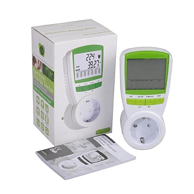 Buy UNIVERSAL US Electric Energy Power Meter Watt Current Voltage ...