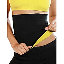 Women Slimming Belt Waist Cincher Fitness Workout Body Shaper Girdle Gym Trainer-Yellow