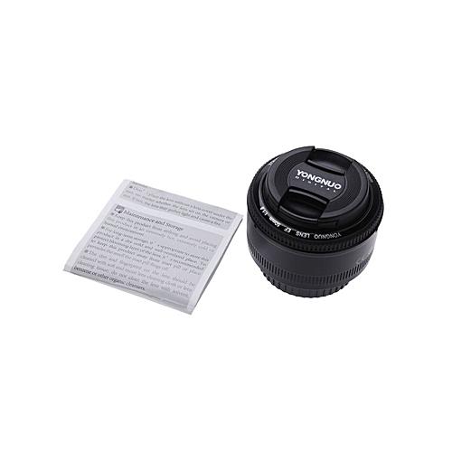 YONGNUO YN EF 50mm F/1 8 AF Lens 1:1 8 Standard Prime Lens Aperture Auto  Focus For Canon EOS DSLR Cameras