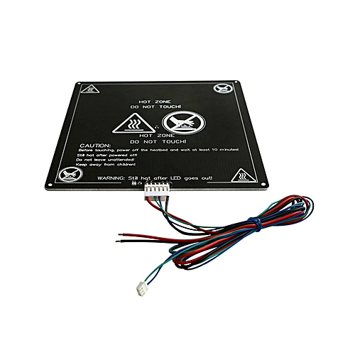 OR MK3 12V Heatbed 3D Printers Heat Aluminum Plate 3MM PCB Board  Accessories-black & white