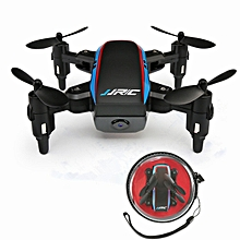 JJRC H53W Shadow WiFi FPV Foldable Mini Drone With 480P Camera Altitude Hold Mode RC Quadcopter BNF-Black Single model