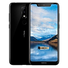 Nokia X5 - 5.86-Inch HD+ (3GB RAM + 32GB ROM) Android 8.1, (13.0MP + 5.0MP) + 8.0MP, 4G LTE - Blue