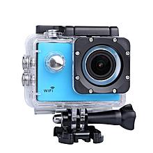 SJCAM SJ4000 Plus 2K Novatek 96660 Waterproof WiFi Car DVR Sports Action Camera Blue- JY-M