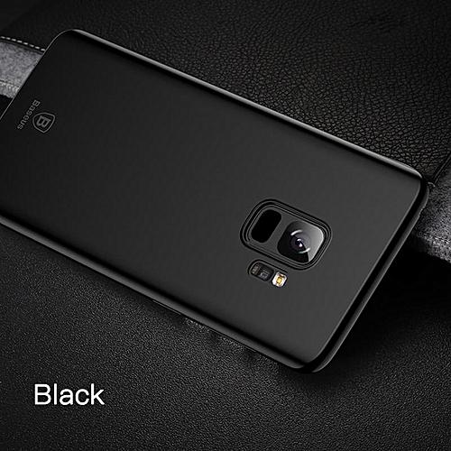 the latest 72fe1 b5fbc Baseus Super Super Thin Phone Case For Samsung Galaxy S9 Plus Ultra Slim  Case (Black) MQSHOP