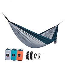 Naturehike NH17D012-C Single Double Hammock Portable Polyester Swing Bed Max Load 180kg