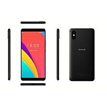P2 - 5.5'' - 16GB ROM - 2GB RAM, Face ID - 5MP + 8MP Dual Camera - 4G - 2700mAh -Plus Free screen protector +Phone caver- Black