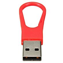 4GB Keychain Style USB 2.0 Flash Drive Memory Stick  Drive Storage Red