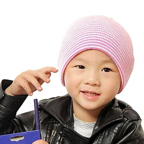 80fd2fa43 Baby Beanie Boy Girls Soft Hat Children Winter Warm Kids Knitted Cap PK
