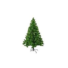 6ft (180cm) Pine Needle Christmas Tree With 200 Tips Metal Feet- Green