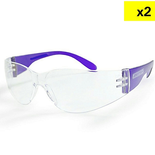 0829199db676 JORESTECH Eye Protection Safety Glasses-Purple (x2) @ Best Price ...