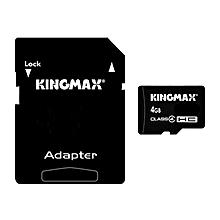 Kingmax 4GB Micro SD TF Micro SD Card For Mobile Phone