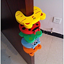 6 pieces Baby/Child Proofing Door Stopper - Multicolor