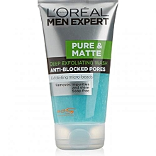 Men Expert Pure Matte Scrub - 150ml