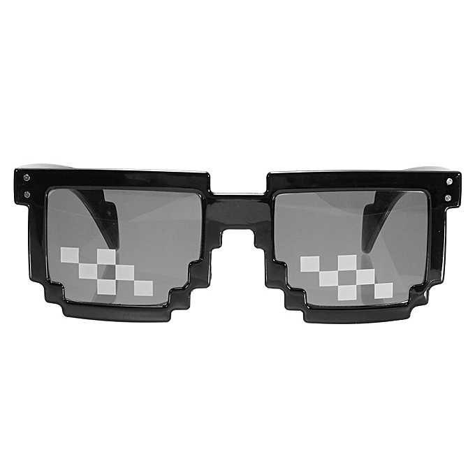 3ba72a87a9 ... Thug Life Glasses 8 Bit Pixel Deal With IT Sunglasses Unisex Sunglasses  HOTSELL ...