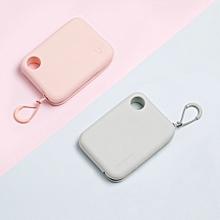 Xiaomi Mijia Silicone Portable Zippered Storage Pouch Bag Handbag Wallet Lightweight w/ Hand Strap