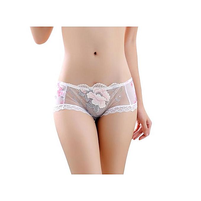 c01aeaf82 Tectores 2018 Fashion Trend Women Boyshort Lace Panties Thongs G-string  Lingerie Underwear