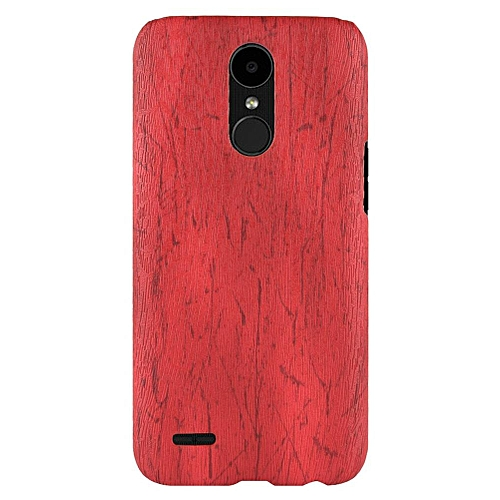 quality design 981b7 a6028 LG K10 2017 Case, [wood Texture] PU Leather + Hard PC Protective Case Cover  for LG K10 2017