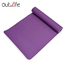 TPE Yoga Mat High-density Lightweight Skidproof - Purple