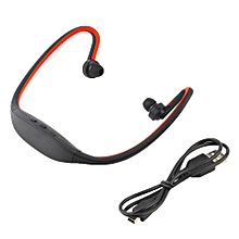 Sport Wireless Bluetooth Handfree Stereo Headset Headphone For iPhone Cellphone Red