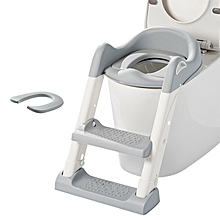 Penguin step Ladder Potty Trainer- Green and Blue