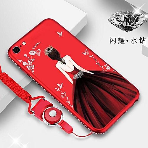 100% authentic 90da4 fdb91 Girls Wedding Dress 3D Relief Case Diamond Bling Soft TPU Shockproof Back  Cover For VIVO V5 / V5s 285234 (Hotpink)