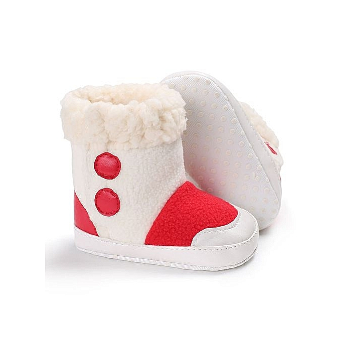 19d25e209 YiQu bluerdream-Baby Girl Boys Soft Sole Booties Snow Boots Infant ...